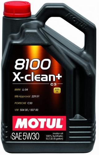 Motul X-clean + 5W30 5L 102269