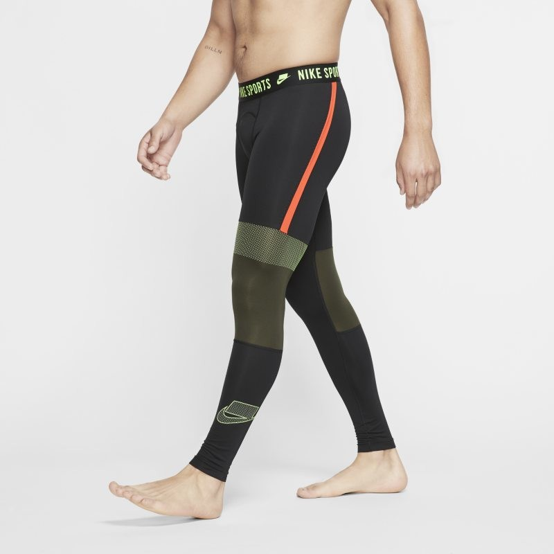 Nike Legginsy męskie Pro - Czerń CD6138-011