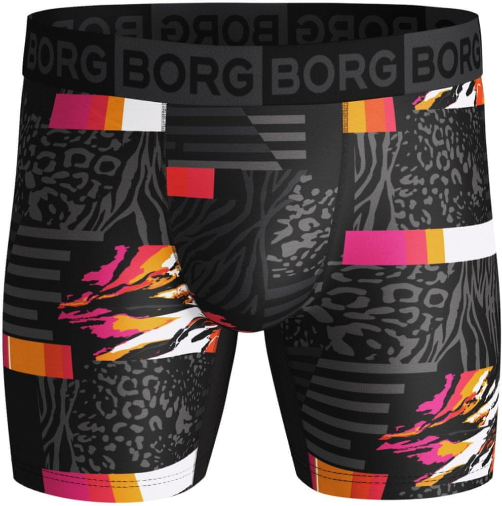 Björn Borg bokserki męskie Shorts Bb Colour Splash 1P Black Beauty XL