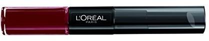 L'Oréal Paris Make-Up wargi indef ctible szminka do ust, Toujours Teaberry/Liquid Lipstick zapewnia 24godzin warga ust z nawilżającym ekstraktem pielęgnacjiBalsam, 1er Pack A69474