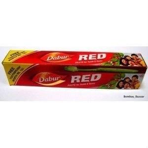 Dabur NI Dabur Red pasta do zębów 200g szczoteczka DA800