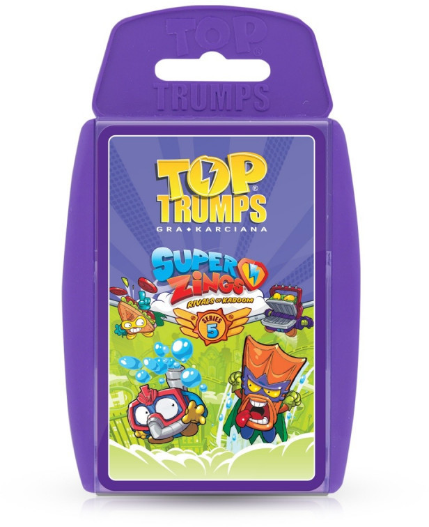 Winning Moves Top Trumps Super Zings Seria 5