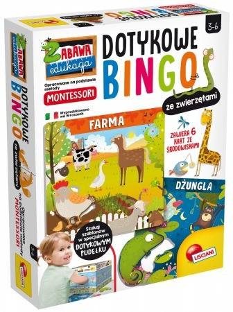 Lisciani Lisciani Montessori Doty kowe bingo ze zwierzetam GXP-712377