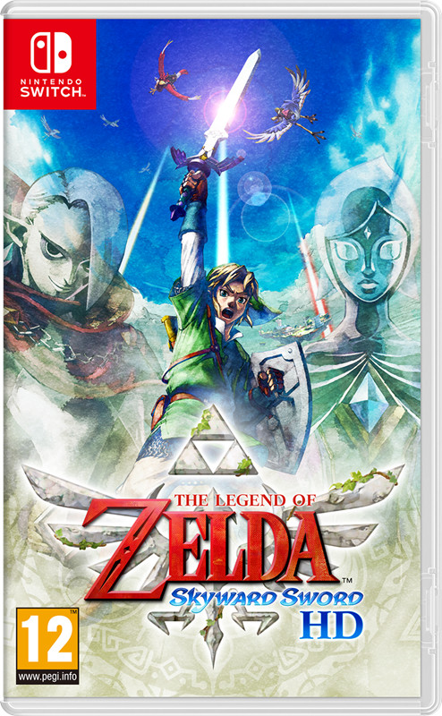 The Legend of Zelda Skyward Sword HD (GRA NINTENDO SWITCH)