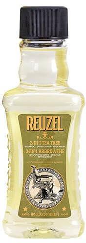 Reuzel Reuzel 3-in-1 Tea Tree szampon, odżywka, żel pod prysznic 100ml 15780