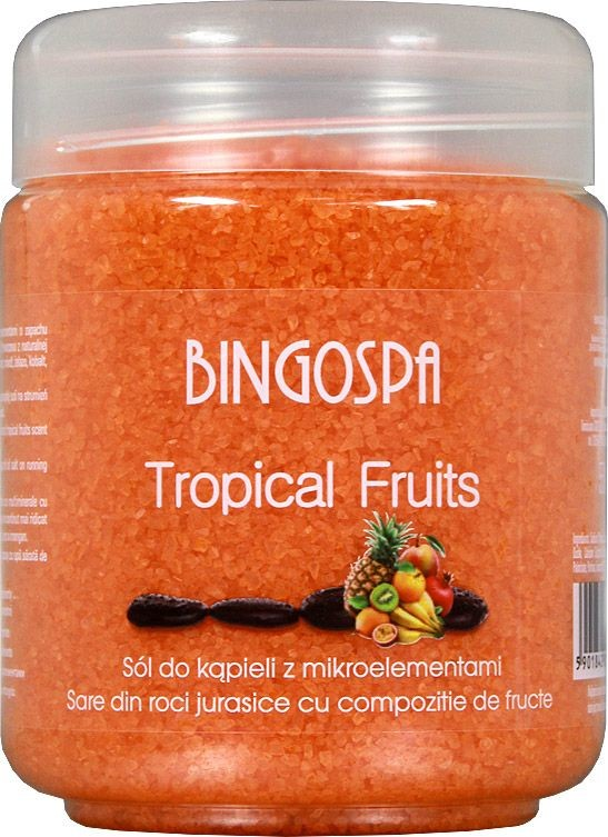 BingoSpa Sól do kąpieli Tropical Fruits z mikroelementami 550g 016