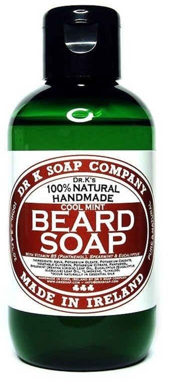 Dr K Soap Company Produkty Beard Soap Cool Mint 250 ml