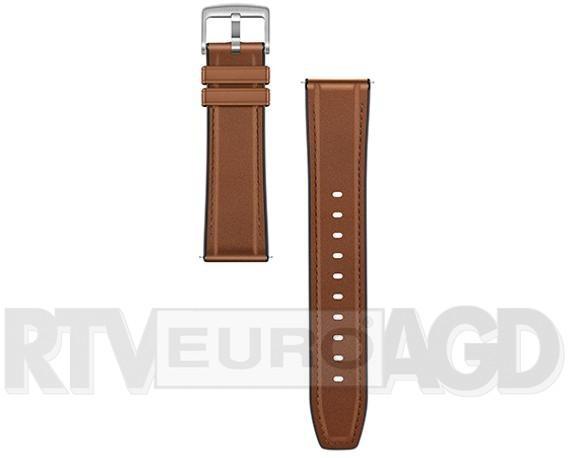 Huawei Huawei Pasek do Watch GT skórzany brązowo-szary 02232UDD