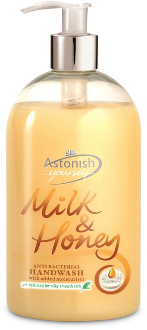 Astonish Mydło w płynie Mleko & Miód 500ml