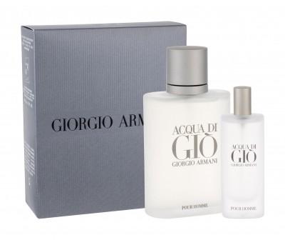 Giorgio Armani Giorgio Giorgio Acqua di Gio Pour Homme zestaw Edt 100 ml + Edt 15 ml dla mężczyzn