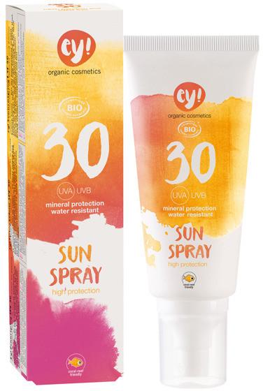 Eco Cosmetics ey! Spray na słońce LSF 30 C4915