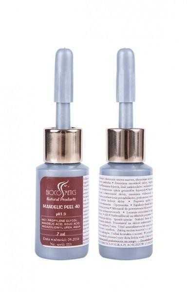 BioCosmetics Peeling kwasem migdałowym - Mandelic Peel 40 7 ml