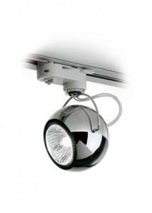 Fabbian Lampa na szynę Beluga Steel D57J03 D57 J03 15