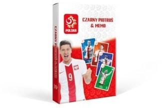 Cartamundi Karty PZPN Czarny Piotruś Memo