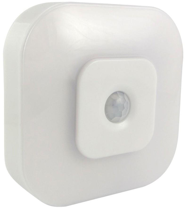 Baterie Centrum LED Nocne światło z czujnikiem LED/0,5W/3xAAA bílá