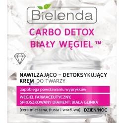 Bielenda Carbo Detox Biały Węgiel nawilżająco-detoksykujący krem do twarzy 50ml