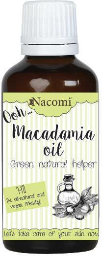 Macadamia NACOMI NACOMI Olej 50 ml 7074402