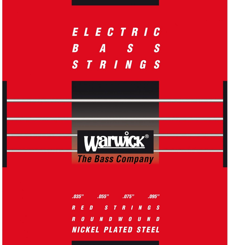 Warwick 46230 - struny do gitary basowej Set, 4-String, Light, .035-.095