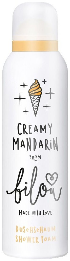 Bilou Bilou Creamy Mandarin Creamy Shower Foam  200ml  kremowa pianka pod prysznic