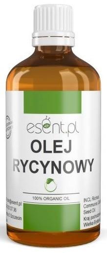 Esent Esent Olej rycynowy ORGANIC 100% 100ml 39957-uniw