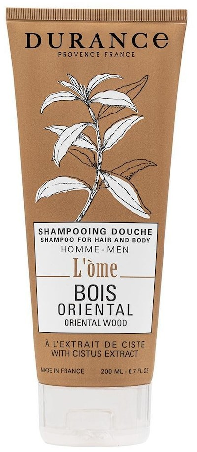 Durance Durance Pielęgnacja włosów Shampoo for Hair and Body Oriental Wood with Cistus extract 200 ml