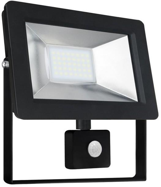 Wojnarowscy LED Reflektor z czujnikiem NOCTIS 2 SMD LED/30W/230V IP44 2050lm czarny