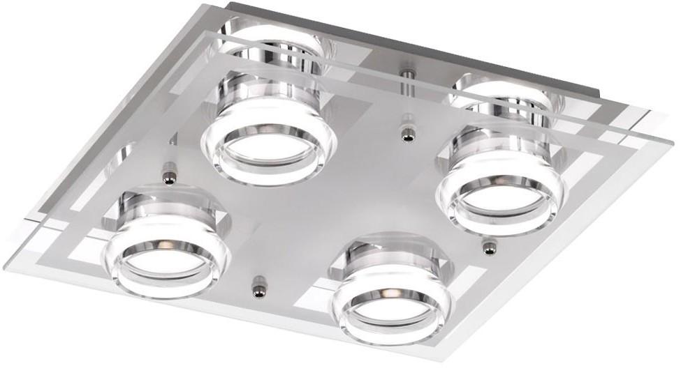 Wofi 9223.04.01.0000 - LED Plafon MOODY 4xLED/5W/230V