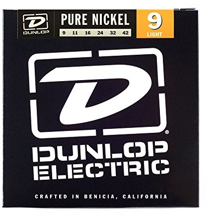 Dunlop DL STR dek 009/042 Electric Pure Nickel Light 38130094201