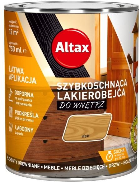 Altax Lakierobejca Szybkoschnąca Dąb 0,75 L (ALLSDA075)