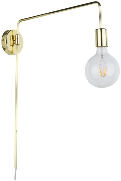 Italux Kinkiet Moniq 1 x 60 W E27 gold black MB-BR1721402-W1-G