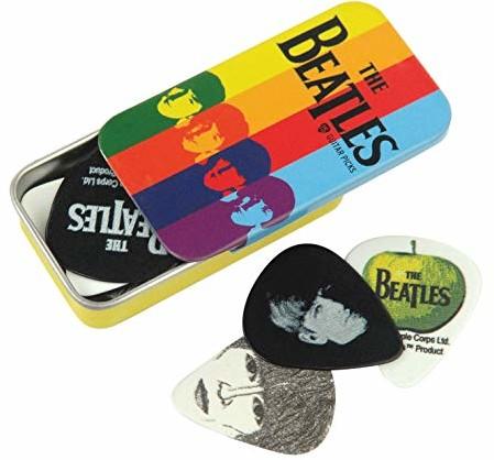 Planet Waves 1CAB415BT2 Beatles Signature Guitar Pick Tins Stripes 1CAB4-15BT2