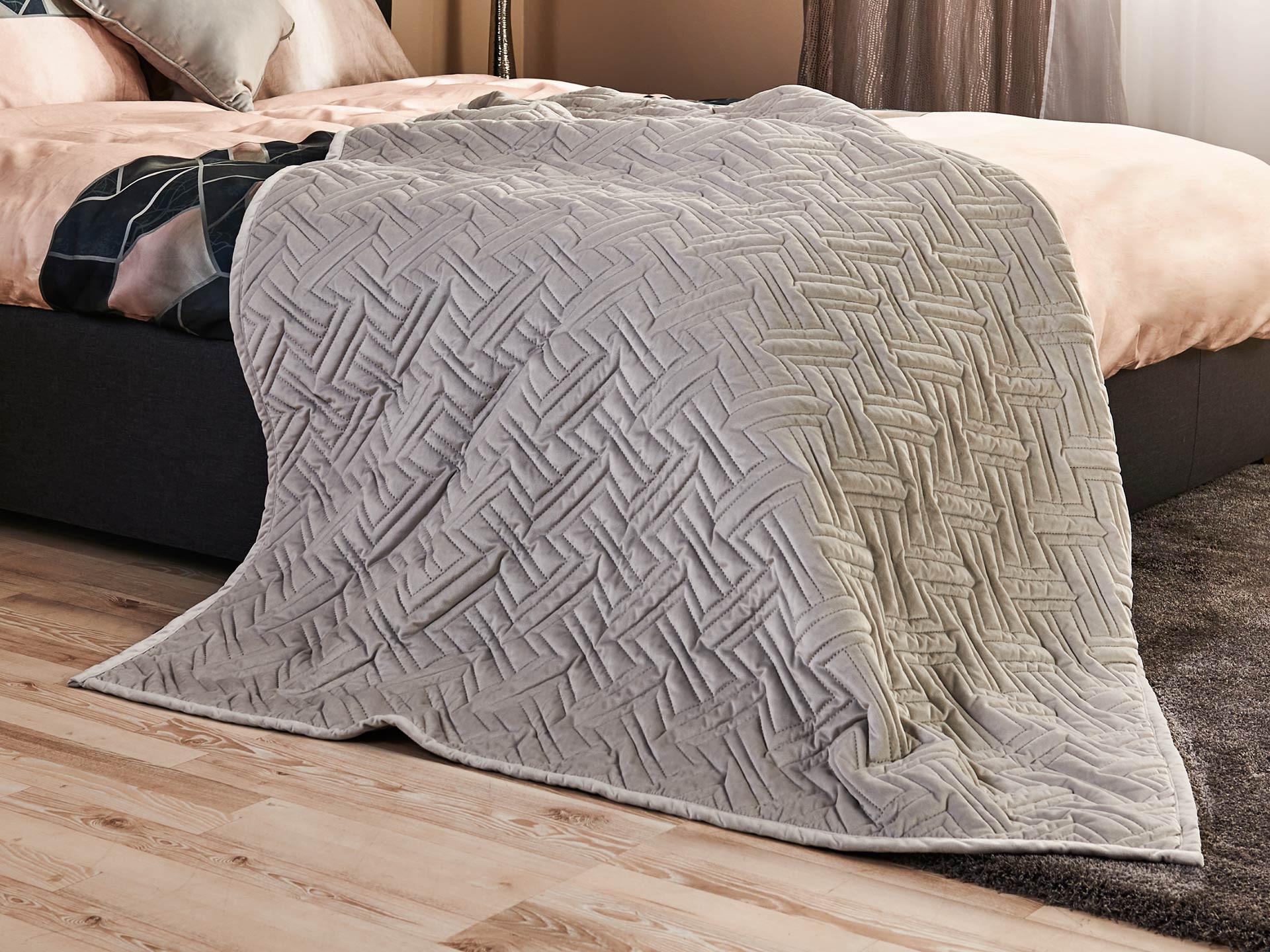 Top Shop Narzuta na łóżko Black Diamond