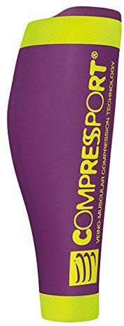 CompresSport Calf R2 v2 ocieplacze na łydki, fioletowy CS2R2V2-4013_4013_T2