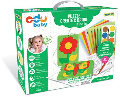 Wader Puzzle Create & Draw Garden