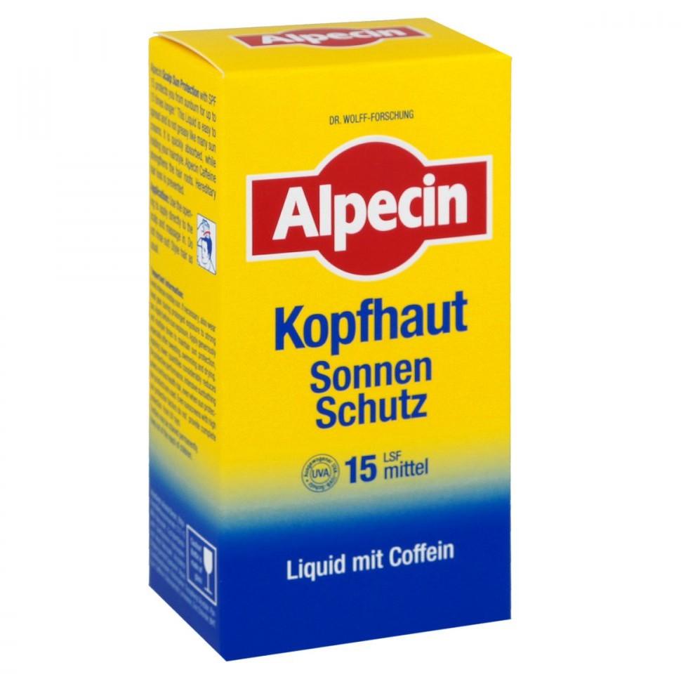 Dr. Kurt Wolff GmbH & Co. KG Alpecin Kopfhaut Sonnen-schutz Lsf 15 Tonikum 100 ml
