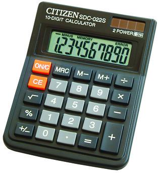CITIZEN KALKULATOR SDC-022S zakupy dla domu i biura! SDC-022S