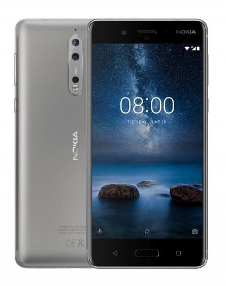 Opinie o Nokia 8 64GB Szary