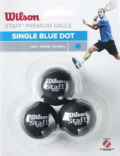 Wilson 3-Pack 1 kropka niebieska WRT618000
