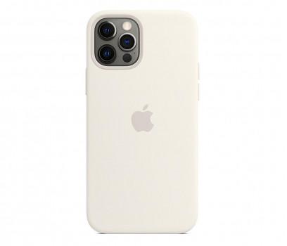 Apple Silikonowe etui iPhone 12|12Pro białe