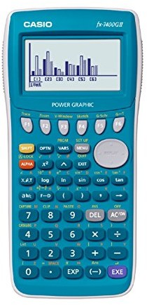 Casio FX-7400GII-L-EH kalkulator graficzny z wyświetlaczem 8-pozycyjnym FX-7400GII