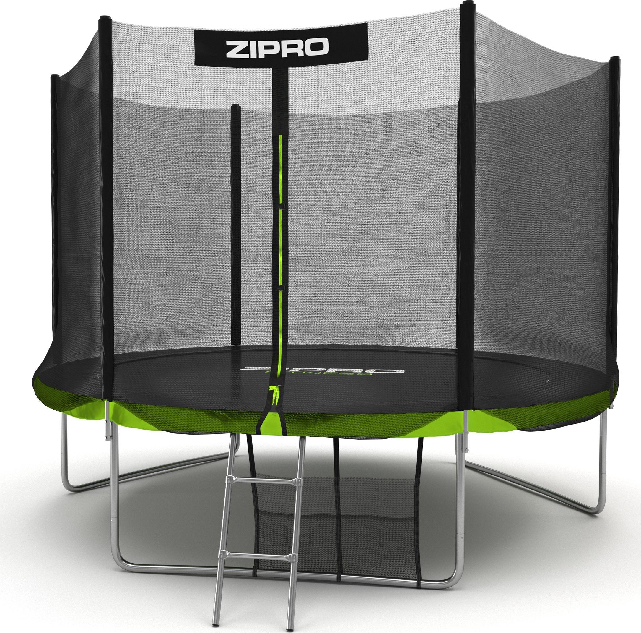 Zipro Trampolina ogrodowa z siatką zewnętrzną 10FT 312cm + torba na buty GRATIS! 5902659840721