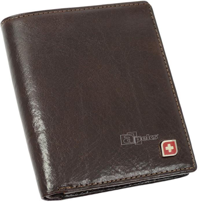 e9c60fa8d0fa9 Genevian Luxury Objects 03-2200-04 portfel skóra - brązowy
