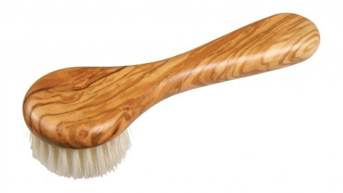 REDECKER Szczoteczka Do Czyszczenia Twarzy Drewno Oliwkowe