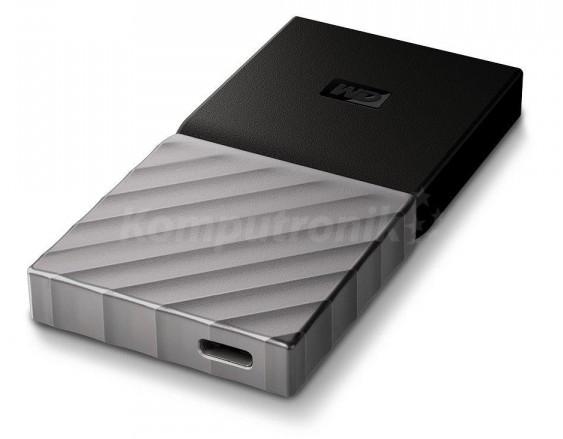 Western Digital My Passport SSD 512GB srebrno-czarny (WDBKVX5120PSL-WESN)