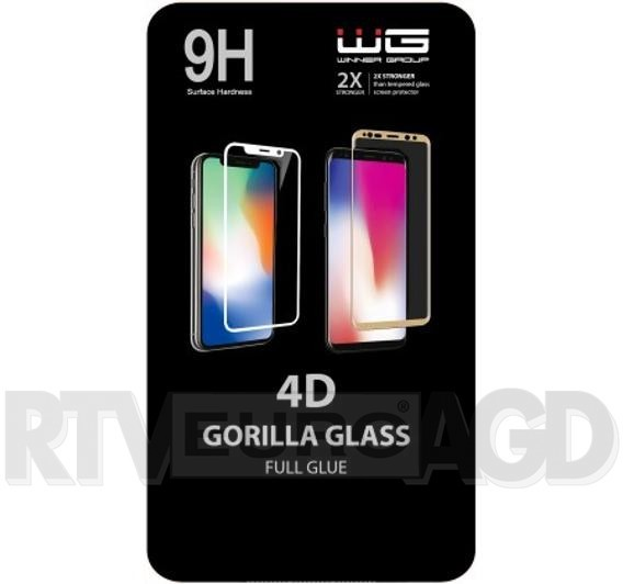 Winner Group WG WG 4D Full Glue iPhone X/XS/11PRO czarny TAKC4088636
