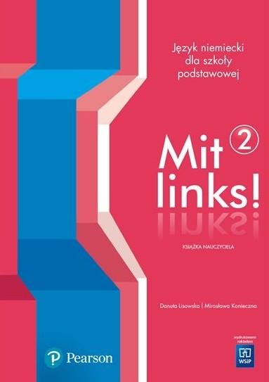 Pearson Mit Links 2 klasa 8. Książka nauczyciela Danuta Lisowska, Mirosława Konieczna