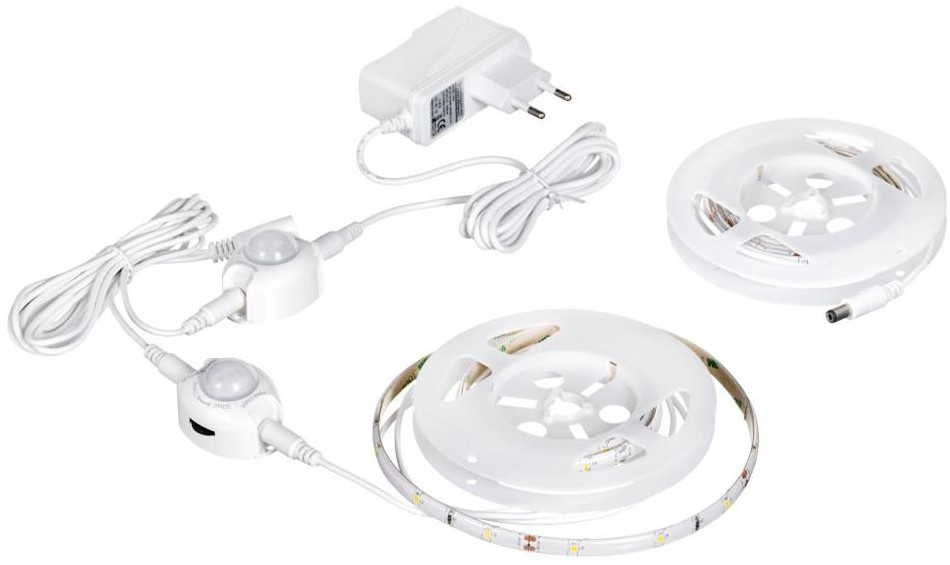ActiveJet Zestaw taśmy LED z zasilaczem, czujnikiem ruchu i zmierzchu AJE-LED STRIPE SENSOR 2 ACTIVEJET