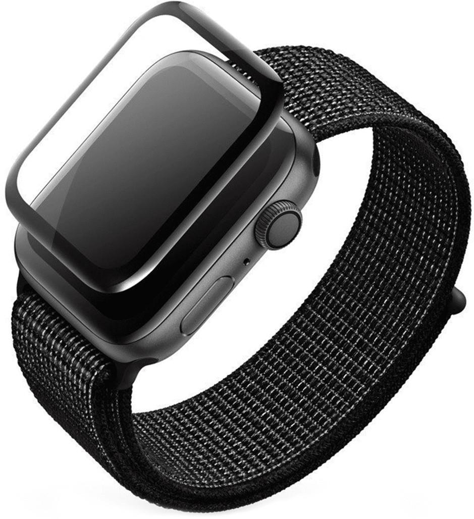 Apple High Five High Five 3D Black Full Glue Screen Protector Szkło ochronne do zegarka Watch 42mm HI51003
