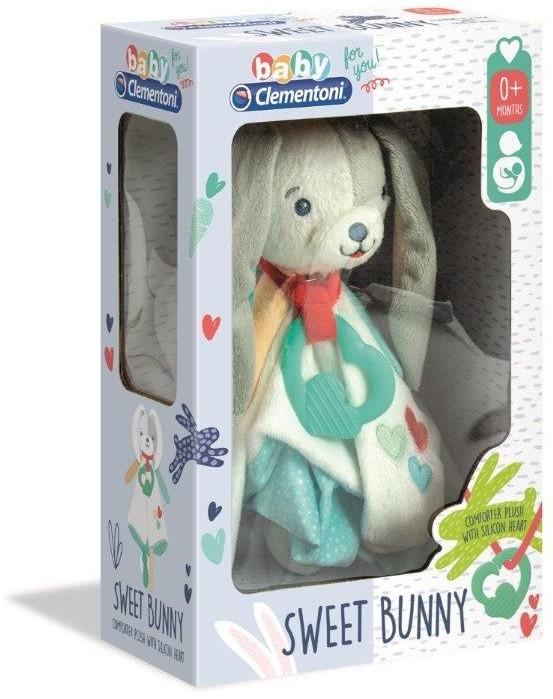 Clementoni Baby For You Przytulanka Króliczek
