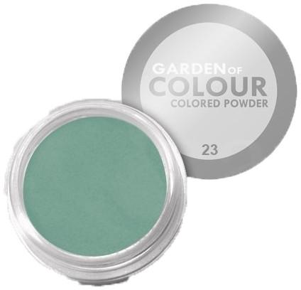 Vanity akryl kolorowy the garden of colour nr 23 zielony 4g 7262